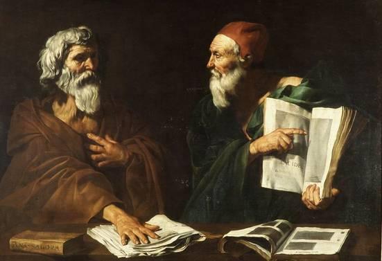 Resultado de imagen para filosofos pintura