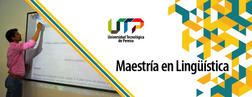 Facebook - Maestría en Lingüística de la Universidad Tecnológica de Pereira.