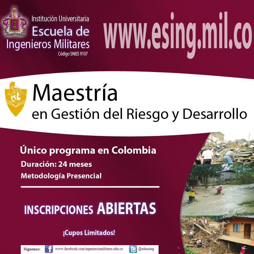 Redulac colombia escuela de ingenieros militares for Escuela de ingenieros